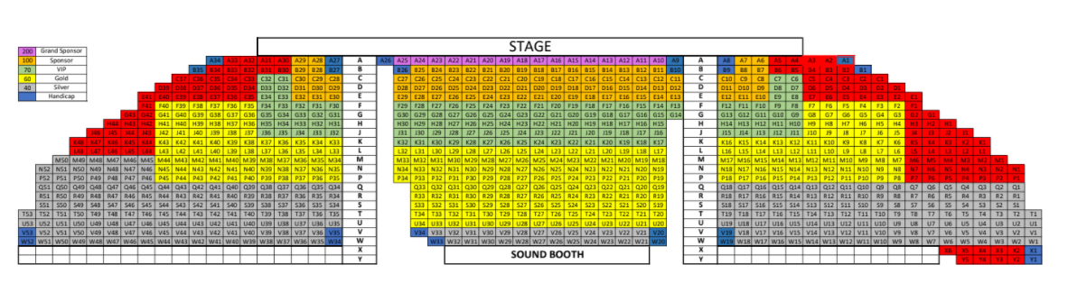 BijuMenonShow Seating WithNumbers