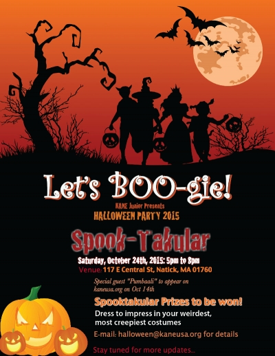 Halloween Party on Oct 28th
