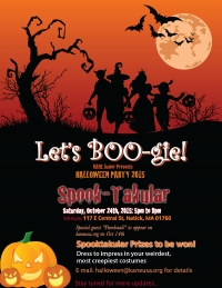 Halloween Party on Oct 29th